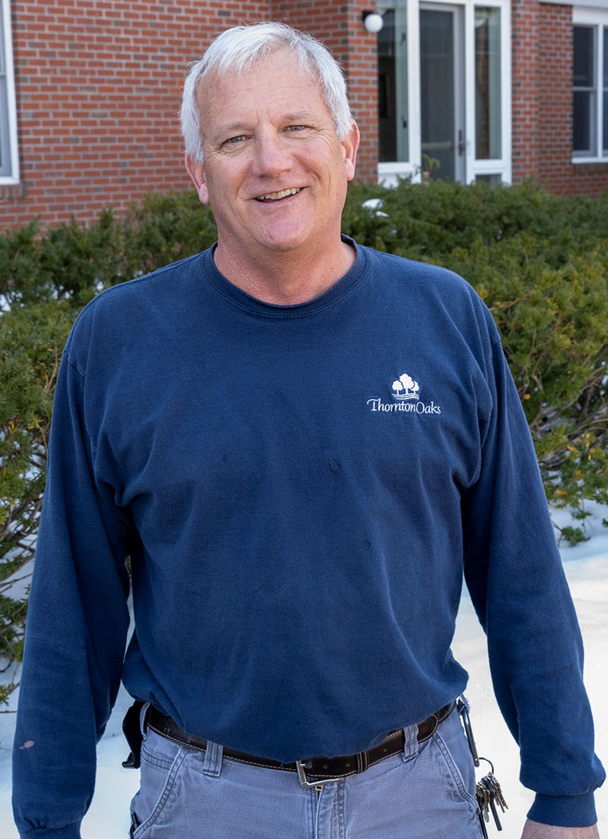 Tim May, Facilities Manager at Thornton Oaks