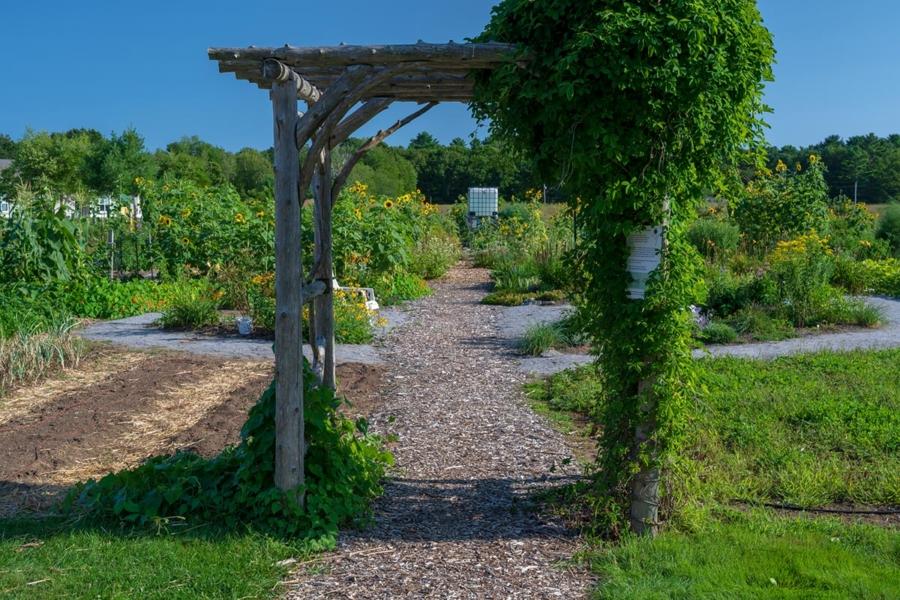 Community Garden entrance