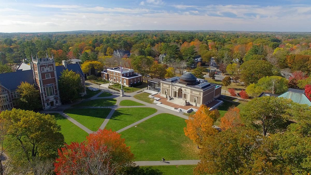 Bowdoin College in Brunswick Maine