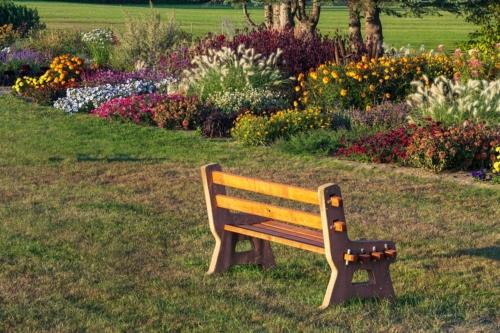 Neighboring public garden
