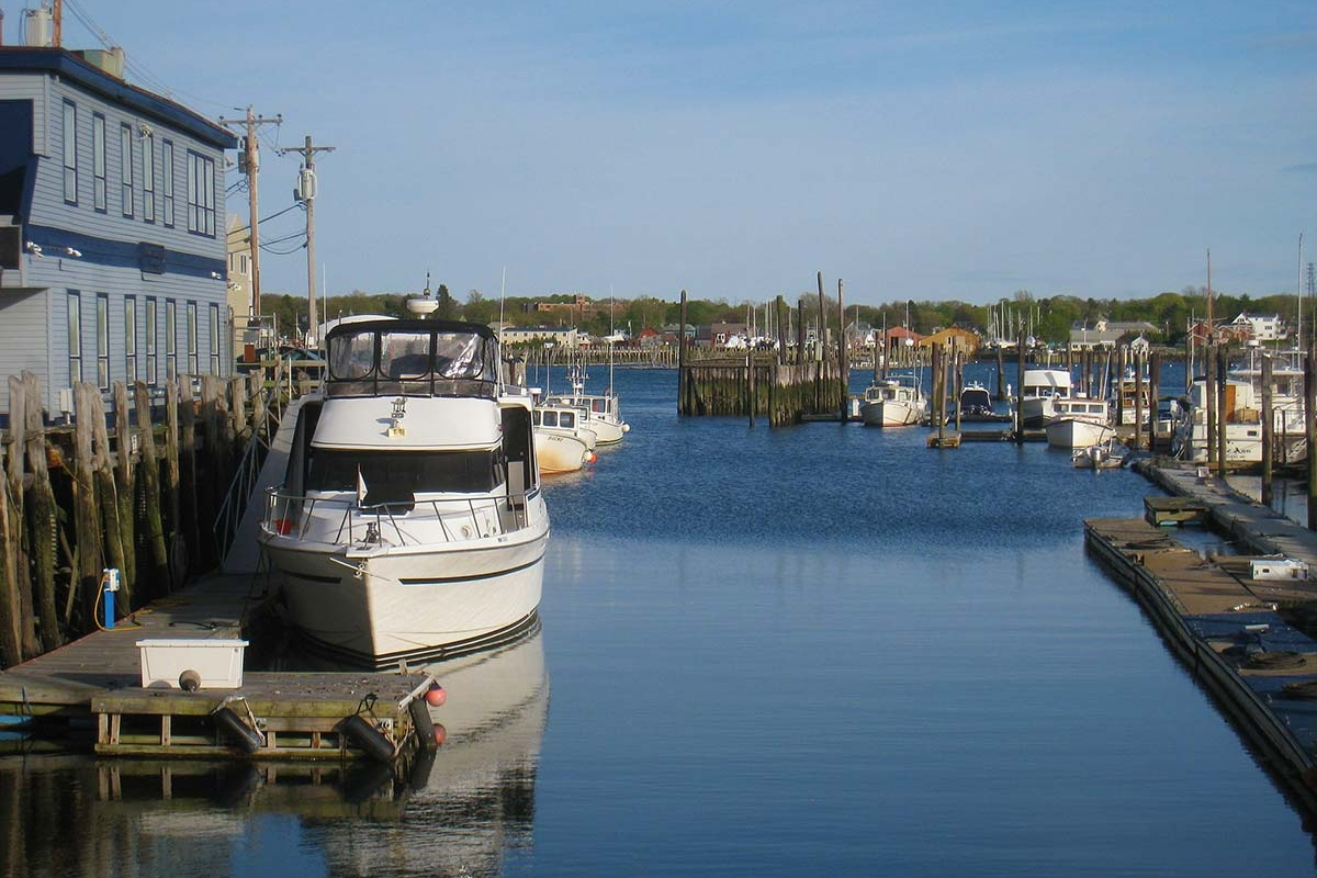 Old Port, Portland, Maine - a half hour drive from Thornton Oaks
